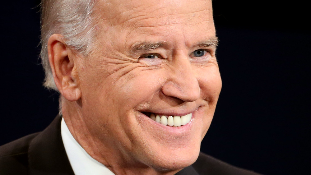President Joe Biden smiling