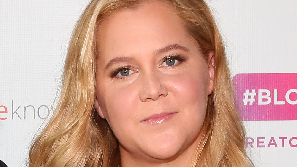 Amy Schumer closed mouth grin