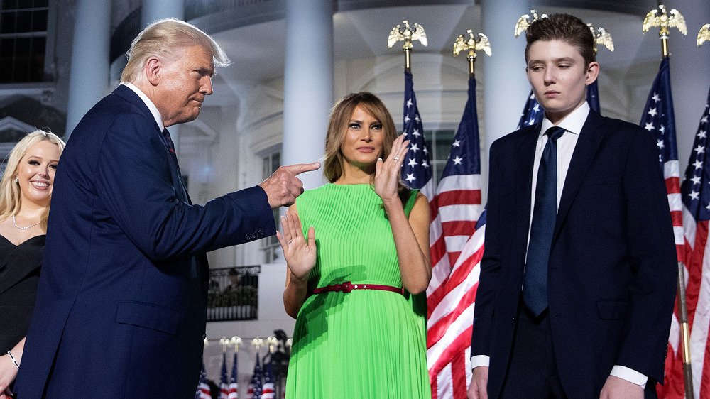 The Real Reason You Rarely Saw Barron During Trump's Presidency