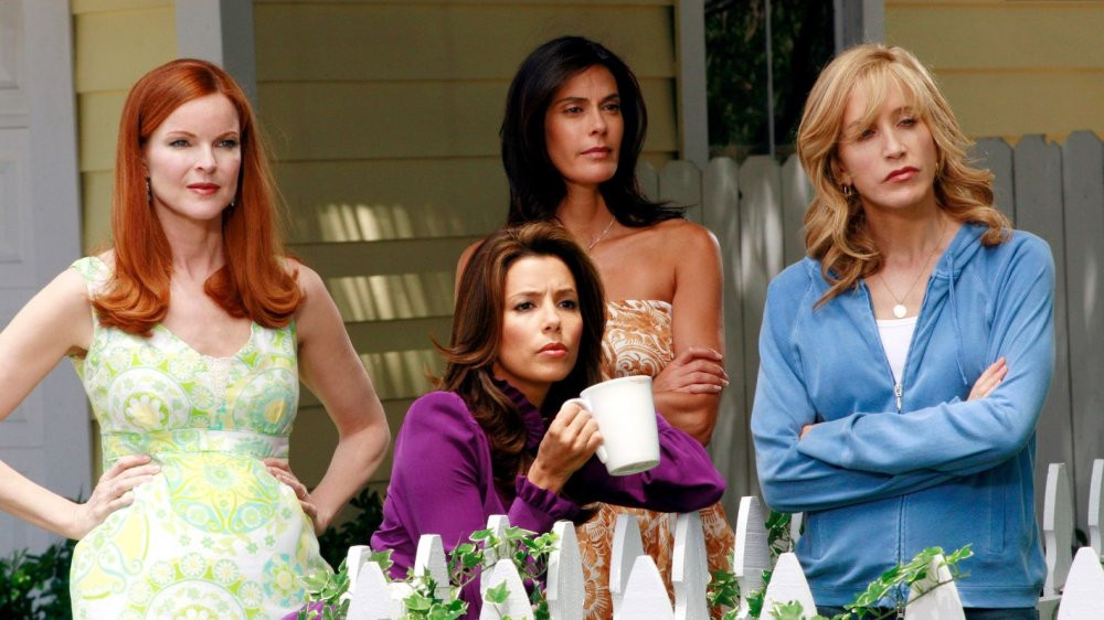 The four main cast members from Desperate Housewives in Season 1