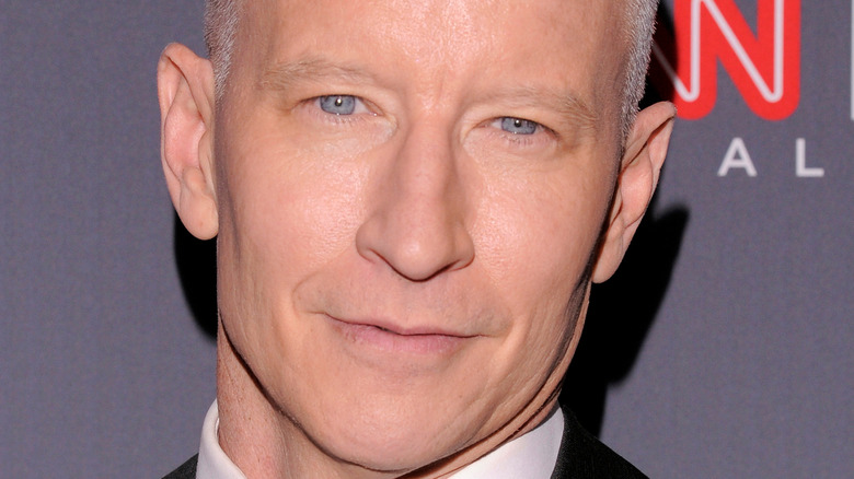 close up of Anderson Cooper