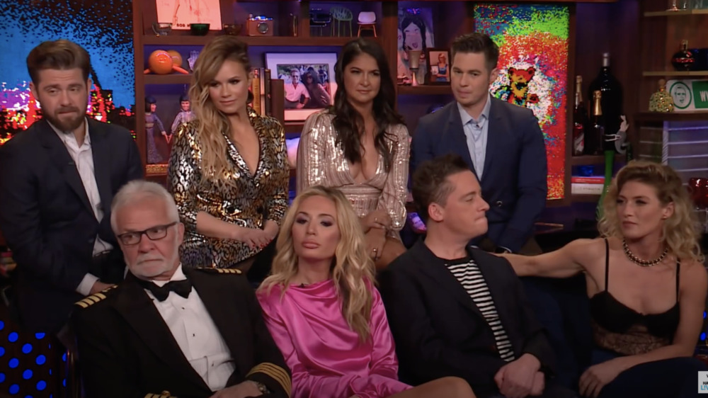 Season 3 cast of Below Deck on WWHL