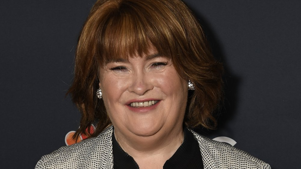 Susan Boyle, who holds multiple world records