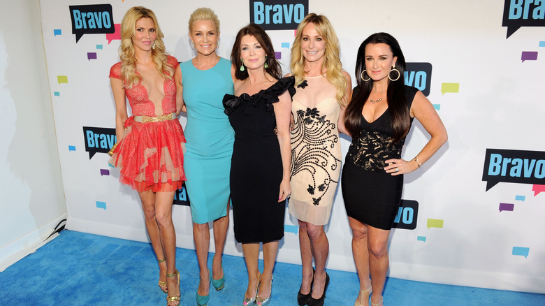 Brandi Glanville, Yolanda Hadid, Lisa Vanderpump, Taylor Armstrong, and Kyle Richards