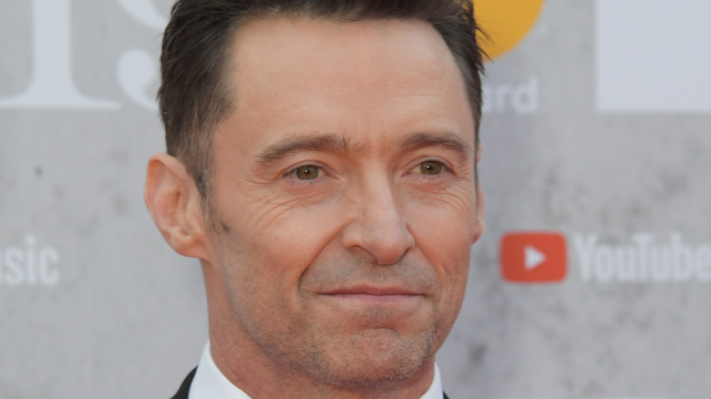 Hugh Jackman on the red carpet