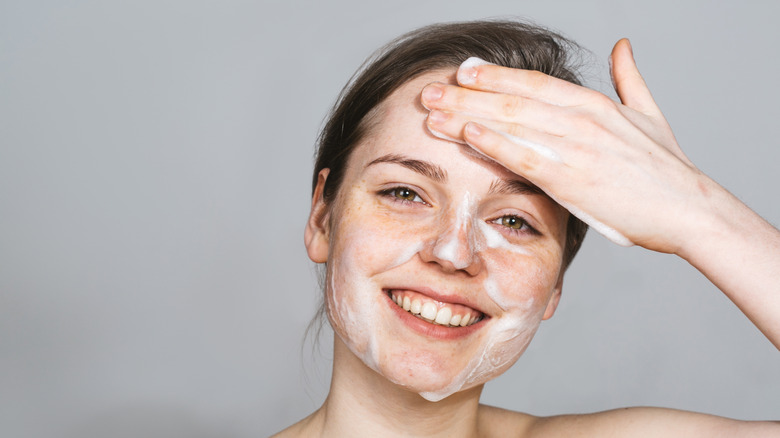 Image result for face washing