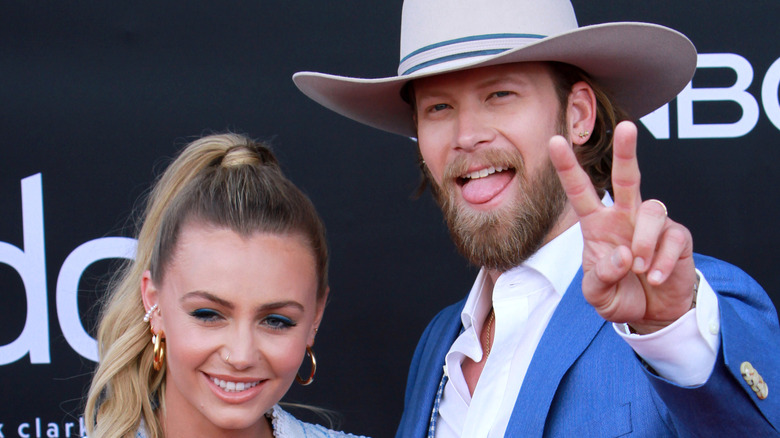 Brittney Kelley and Brian Kelley at awards show