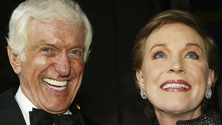 Dick Van Dyke and Julie Andrews at Mary Poppins event