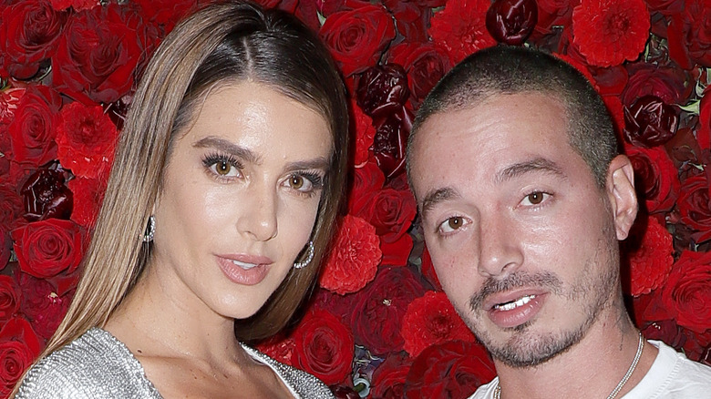 J Balvin and Valentina Ferrer at event