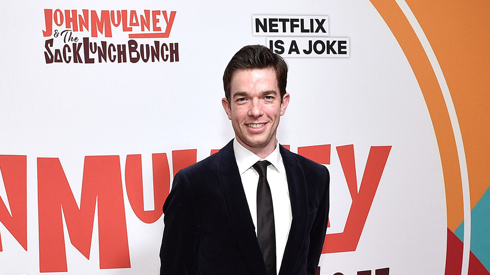 John Mulaney at a premiere