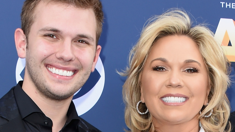 Chase and Julie Chrisley smile
