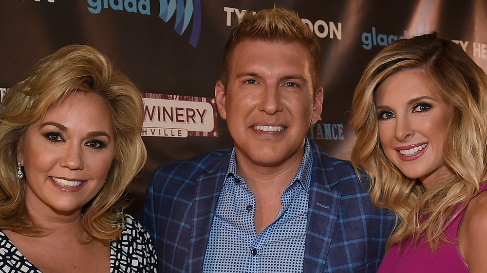 The Chrisley Family smiles with daughter Lindsie