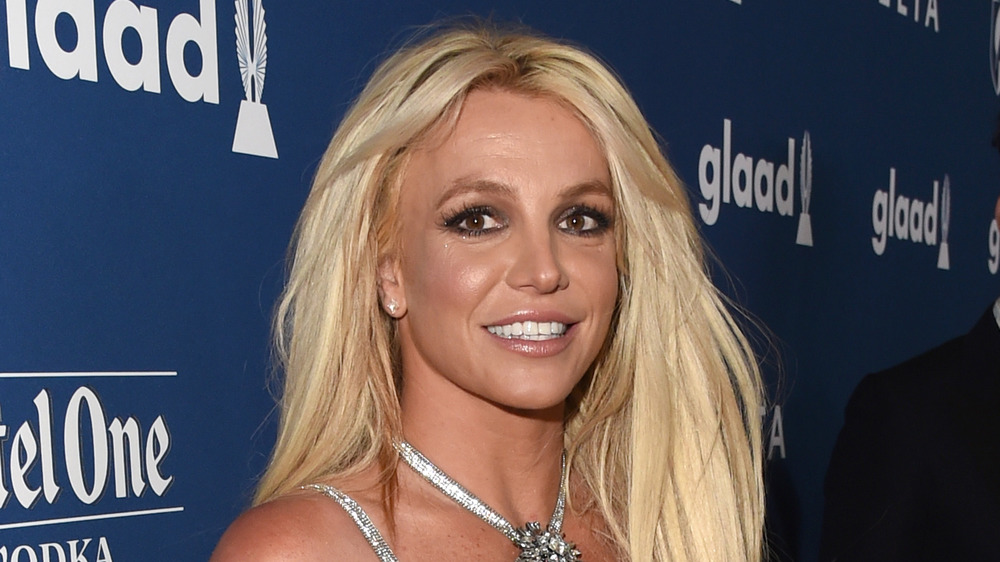 Britney Spears at the 2018 GLAAD Gala