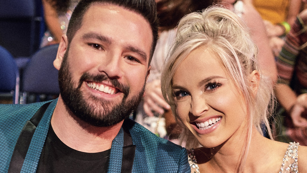 Country artist Shay Mooney with wife