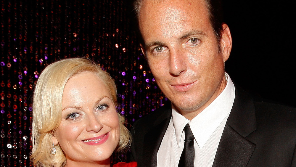 Amy Poehler and Will Arnett on the red carpet