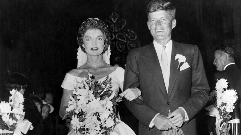 f0f370035e1 Jackie Kennedy had the most beautiful wedding ever. Getty Images