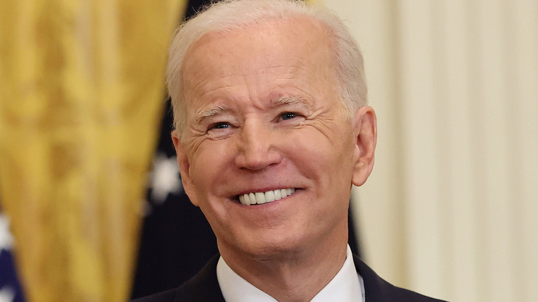 Joe Biden at first presidential press conference