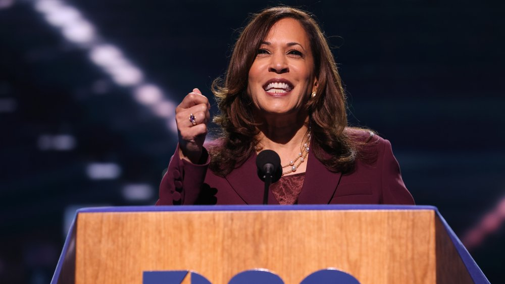 Kamala Harris at the DNC