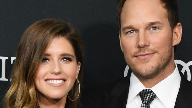 Katherine Schwarzenegger and Chris Pratt at event