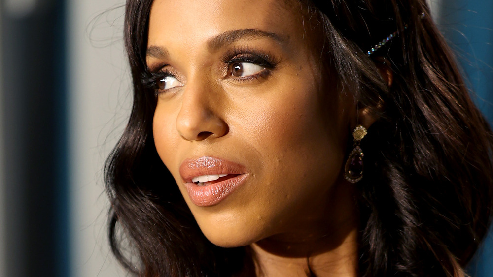 Kerry Washington attending an event