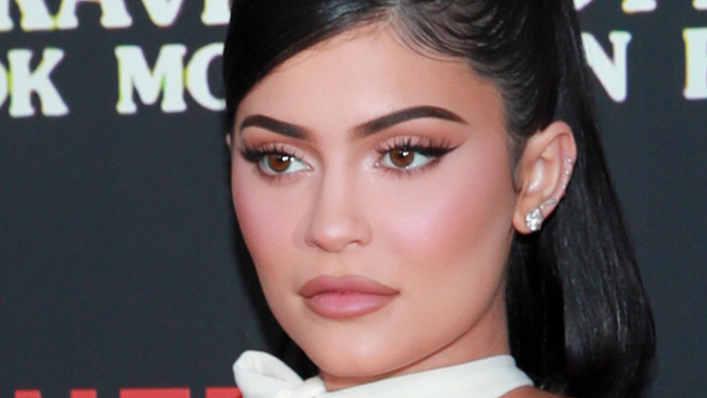 Kylie Jenner at event close up