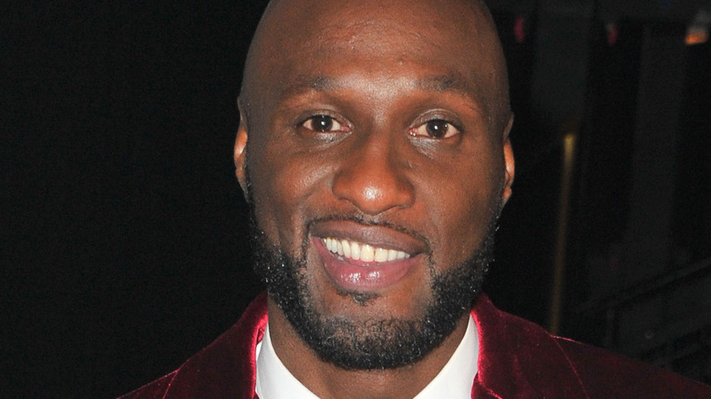 Lamar Odom at event