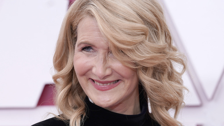 Laura Dern smiling at an event