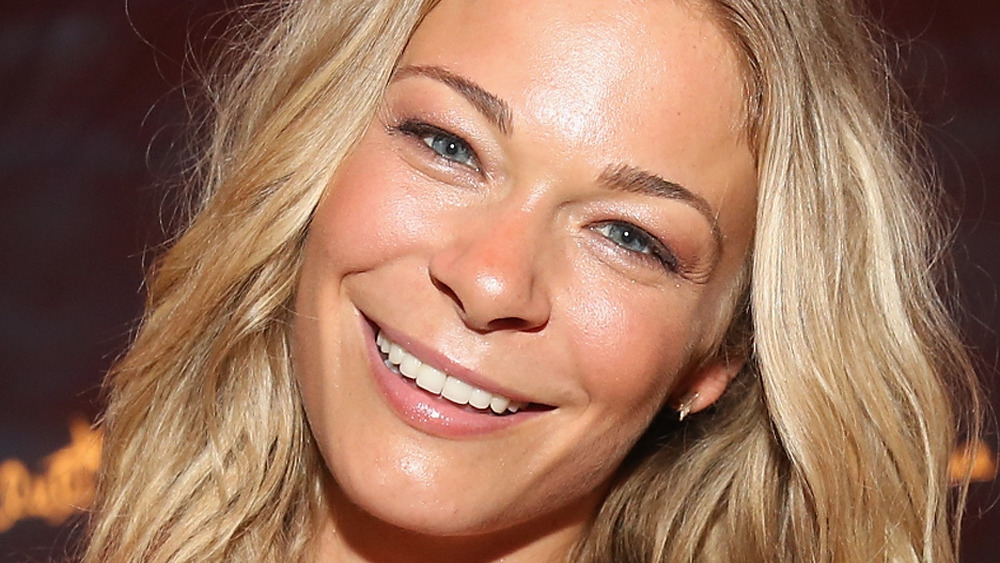 LeAnn Rimes smiles at an event