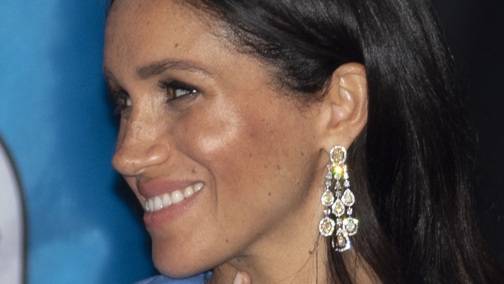 Meghan Markle at a state dinner in Fiji