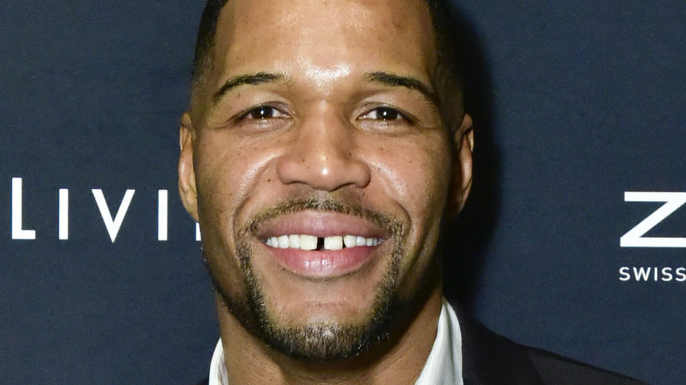 Michael Strahan at an event