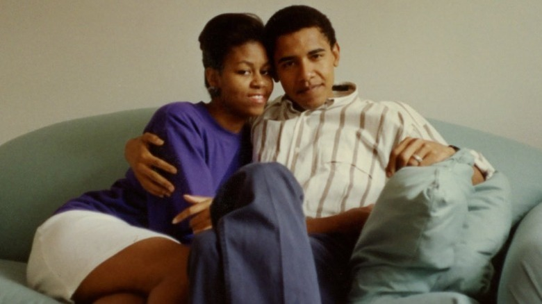 Michelle and Barack Obama dating