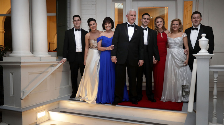 The Pence family
