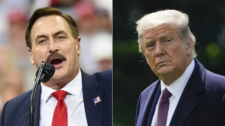 Mike Lindell, Donald Trump