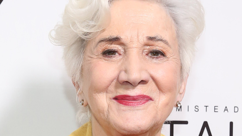 Olympia Dukakis close up