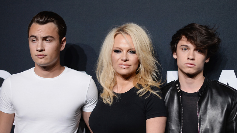 Pamela Anderson's Sons Grew Up To Be Gorgeous