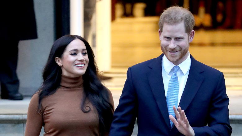 Harry and Meghan's last public appearance