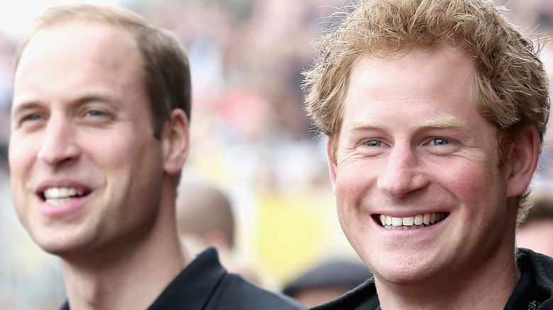 Prince William and Prince Harry together