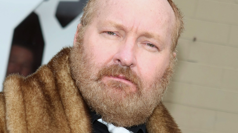 Randy Quaid with beard