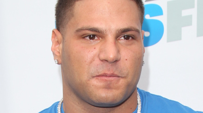 Ronnie Ortiz-Magro at event
