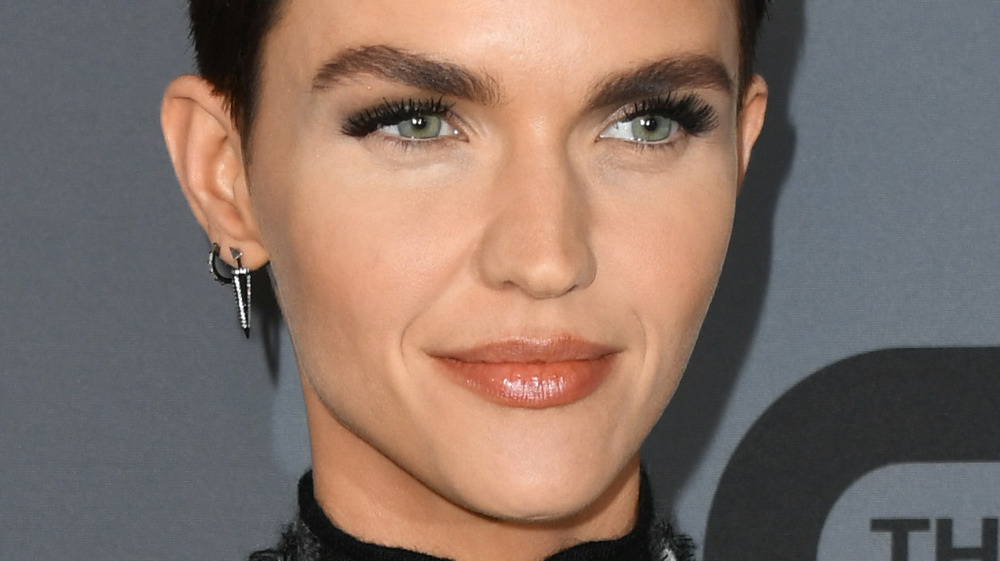 Ruby Rose close-up at event
