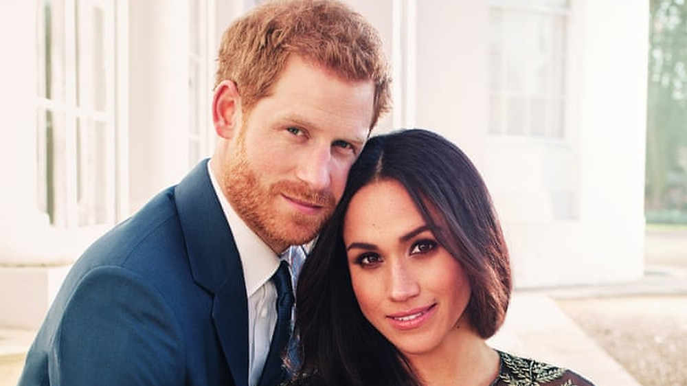 Harry and Meghan in a breezy room