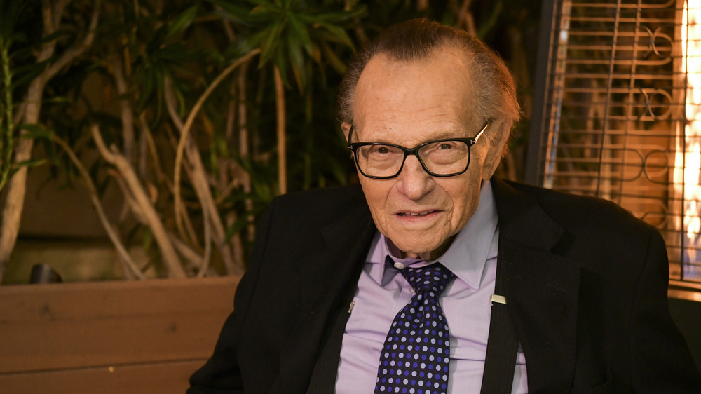 Larry King in California, 2019