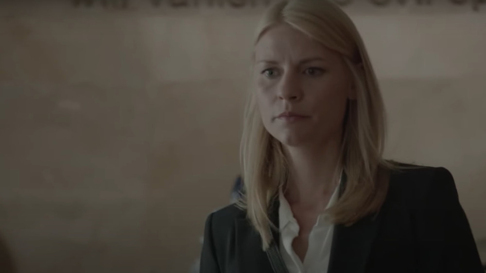 Claire Danes acting in Homeland