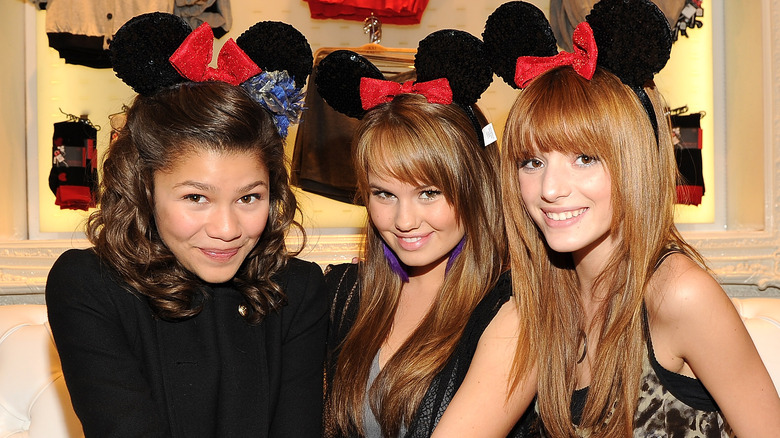 Zendaya, Debby Ryan, and Bella Thorne, Disney stars who had to follow strict rules