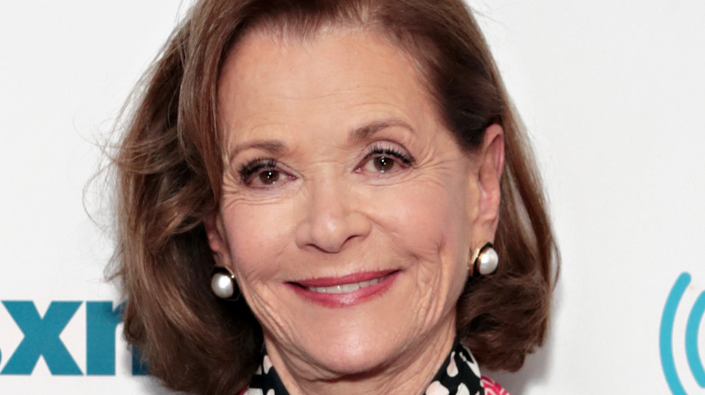 Jessica Walter smiling at event