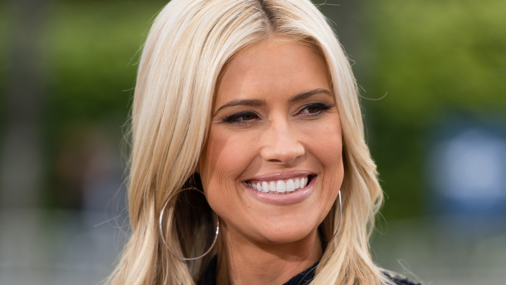 Christina Anstead smiling, close-up
