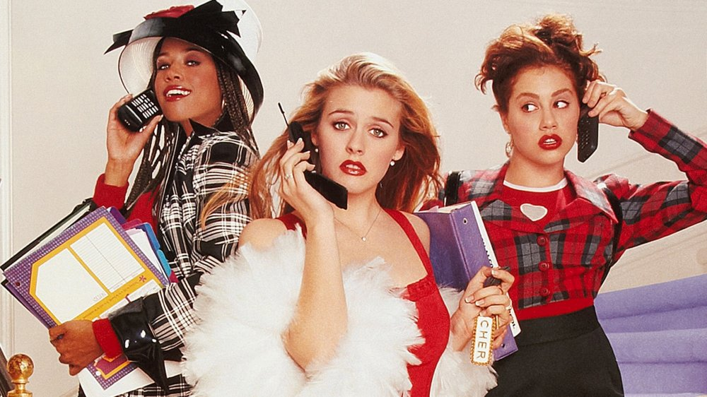 Dionne, Cher, and Tai in Clueless movie poster