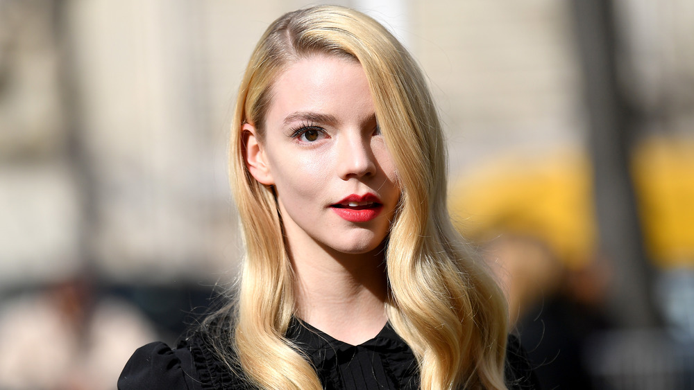 Anya Taylor Joy with long hair