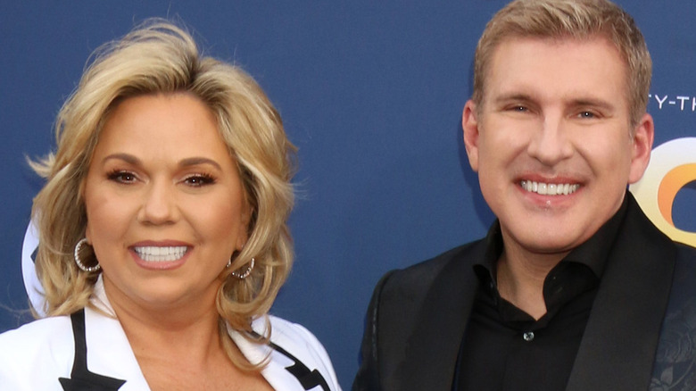 Julie and Todd Chrisley at event