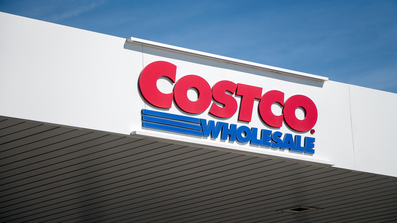 Costco storefront sign
